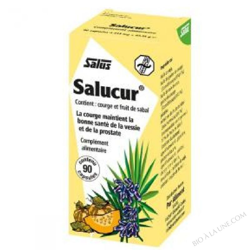 Salucur Sabal Courge - 90 capsules