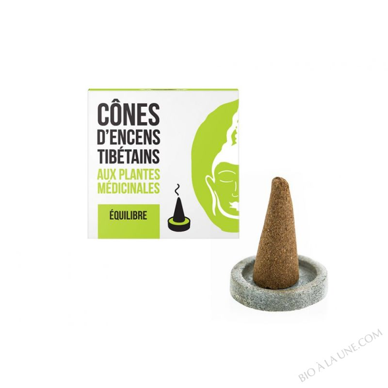 CONES D'ENCENS TIBETAINS EQUILIBRE AROMANDISE