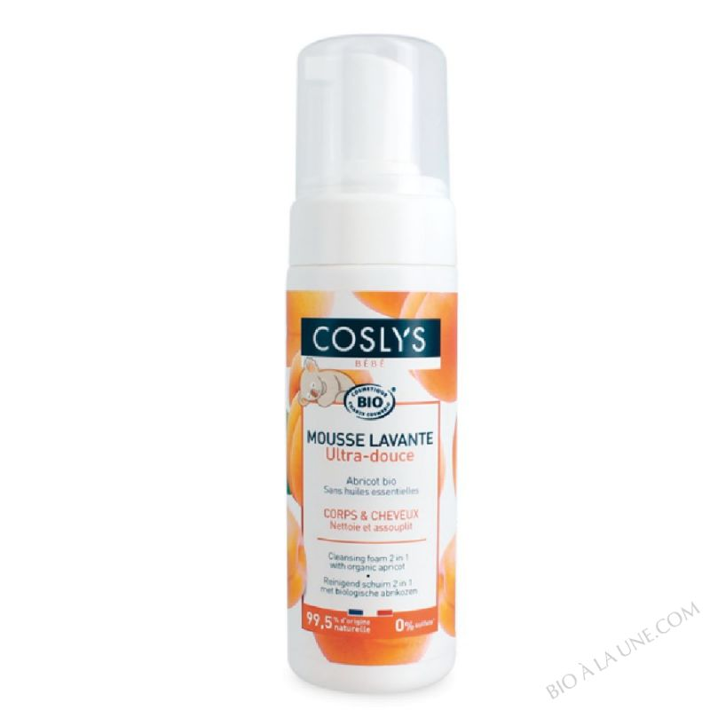 COSMOUSSE BEBE ABRICOT 150ML COSLYS