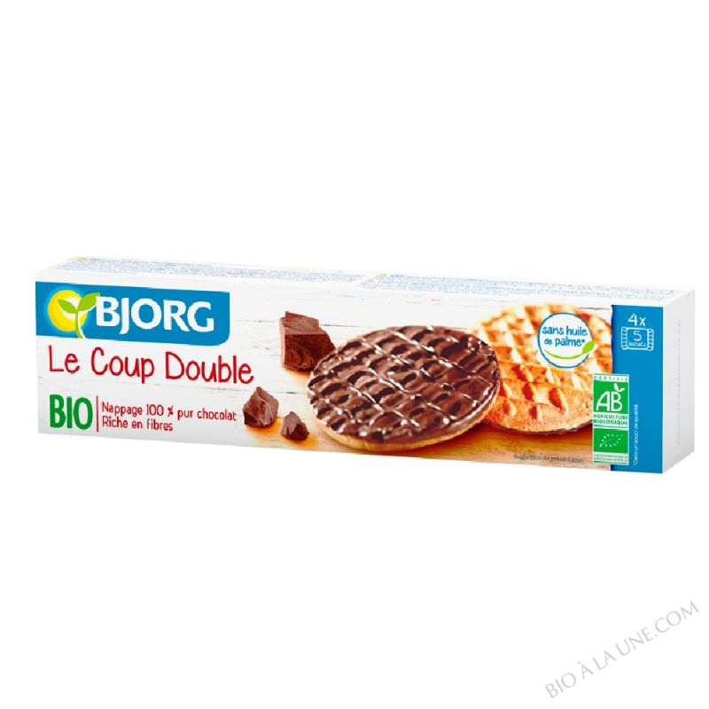 Biscuits chocolat - Le coup double bio