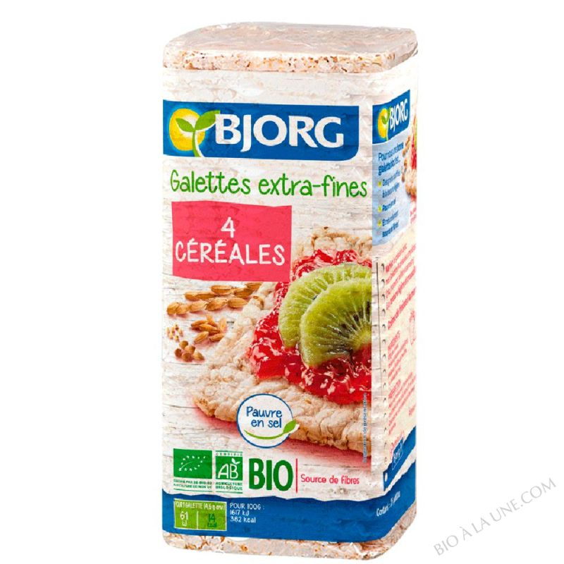 Galettes cereales extra fines 130g