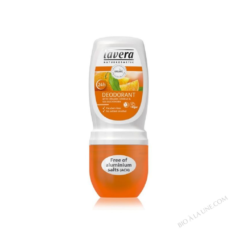 Deo roll on Orange et Argousier Bio 50ml