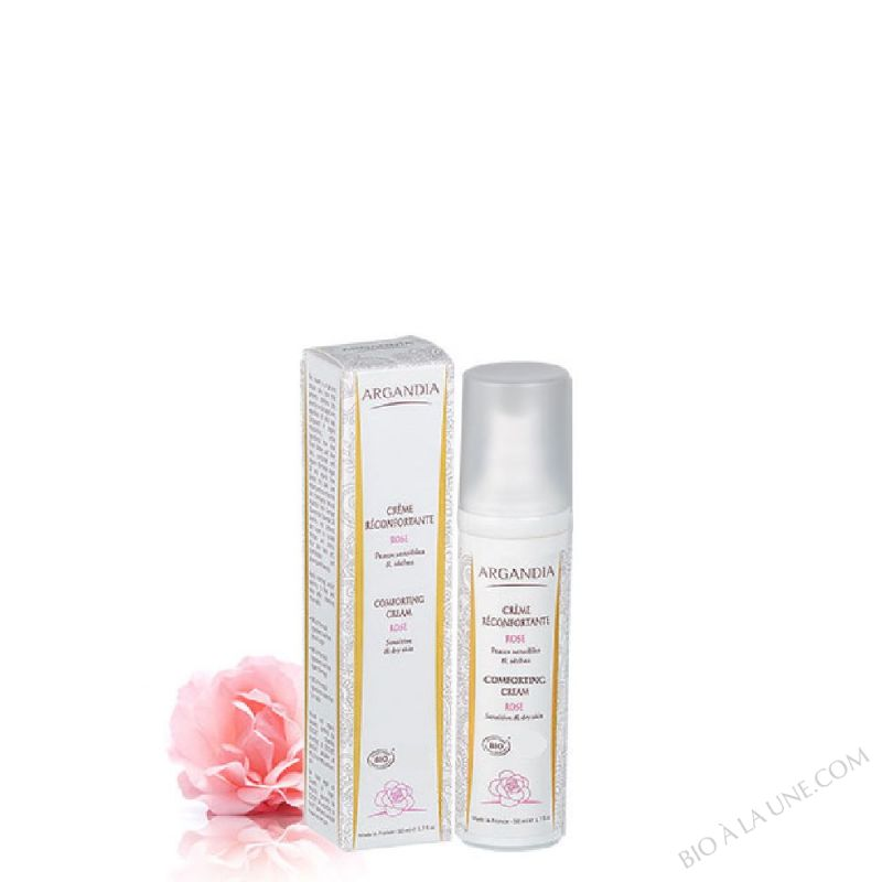 CREME RECONFORTANTE ROSE 50ML ARGANDIA