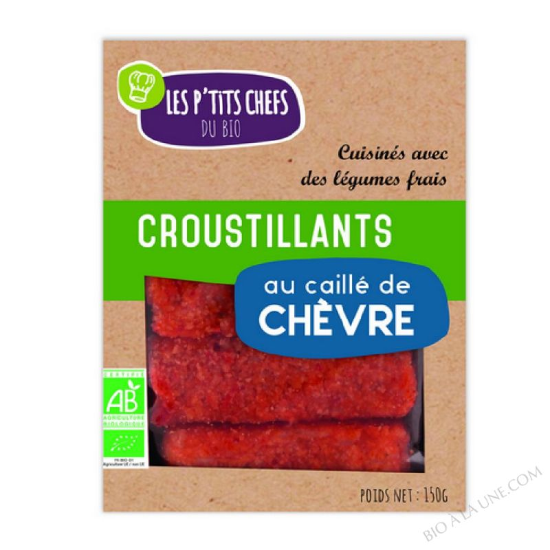 CROUSTILLANTS AU CHEVRE 5 X 30G
