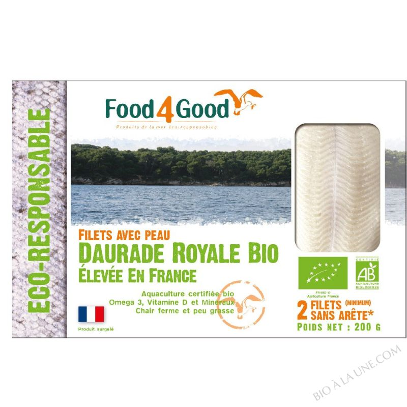 DAURADE ROYALE BIO 200GR FOOD4GOOD