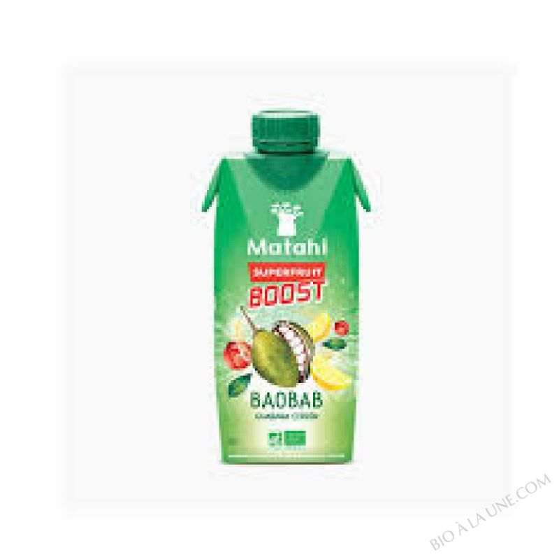 BAOBAB GUARANÁ CITRON - 33 CL