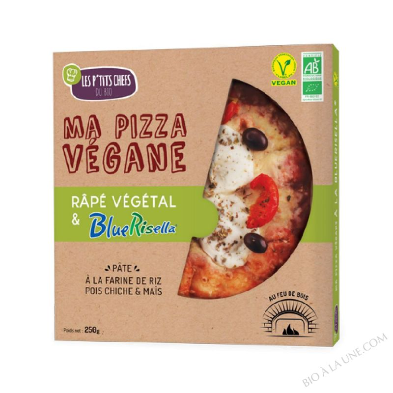 PIZZA BLUERISELLA VEGAN 250 G