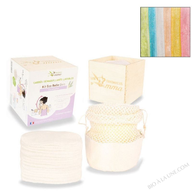 Kit Eco Belle Bois Bambou Multicolore - X15