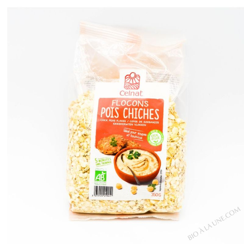 Flocons de pois chiches bio - 350g