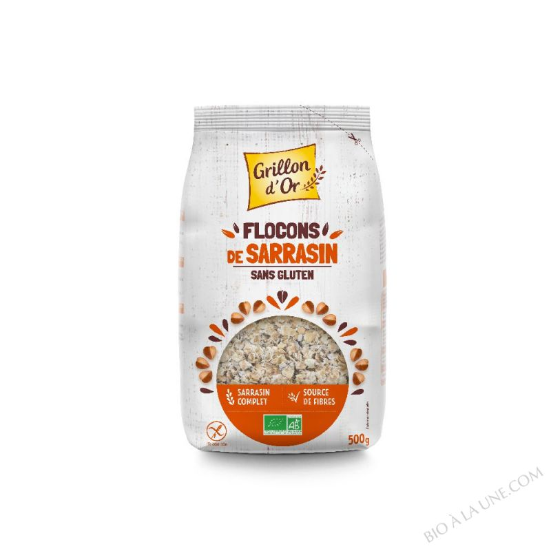 FLOCONS SARRASIN 500G CERECO