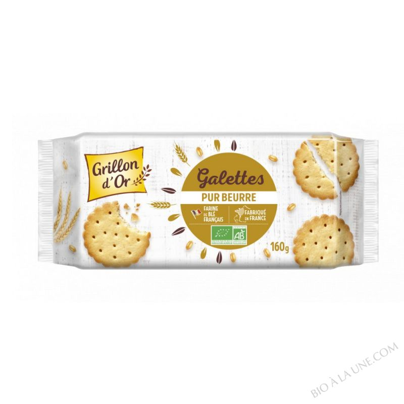 GALETTES PUR BEURRE BIO 160G