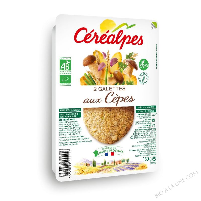 GALETTES FORESTIÈRE - 2 X 100 G