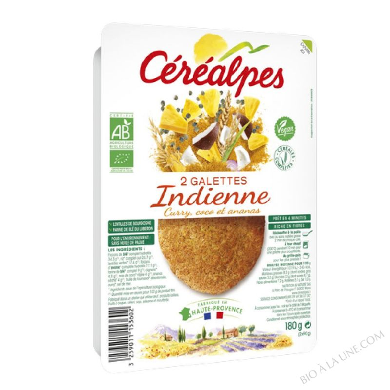 GALETTES INDIENNE - 2 X 100 G