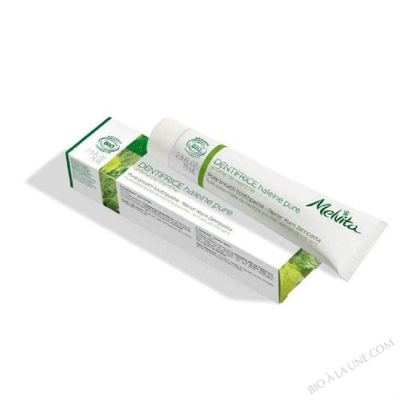 Duo dentifrice Haleine pure - 2 x 75ml