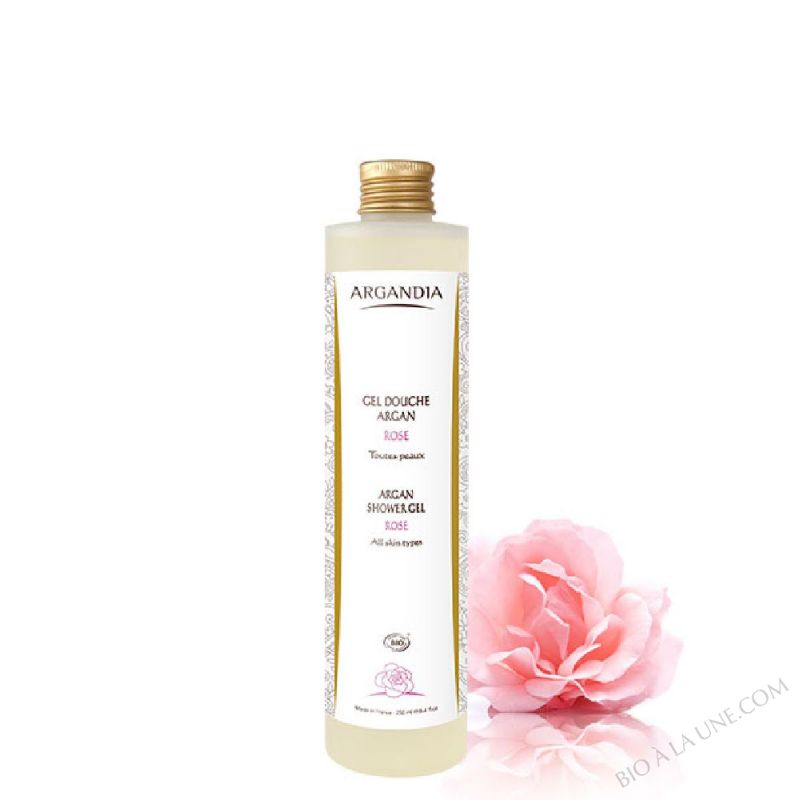 Gel Douche Argan Rose - 250 ml