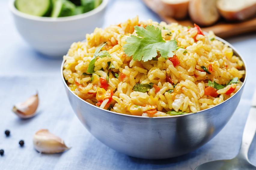 salade de riz au thon et curry recette bio bio la une. Black Bedroom Furniture Sets. Home Design Ideas