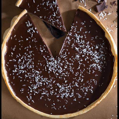 Tarte au chocolat sans gluten recette bio bio la une - Tarte au chocolat sans oeuf ...