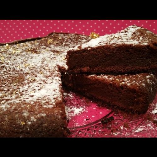 Fondant au chocolat la cr me de marron recette bio - Fondant chocolat creme de marron ...