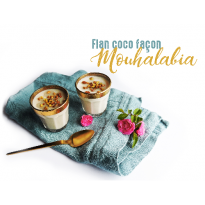 Flan coco façon Mouhalabia