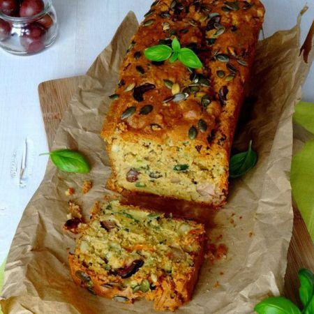 Cake Potimarron Jambon Farine De Riz