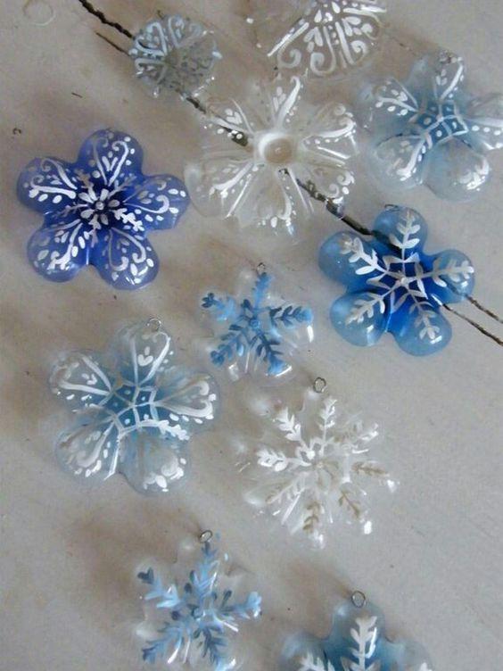 Idee Deco Noel Avec Bouteille Plastique 8 idées pour réaliser ses décorations de noël avec de la récup | bio