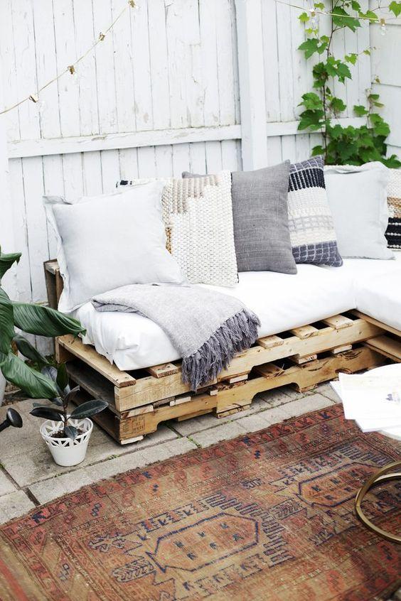 10 idées pour aménager son jardin ou sa terrasse avec des objets ...