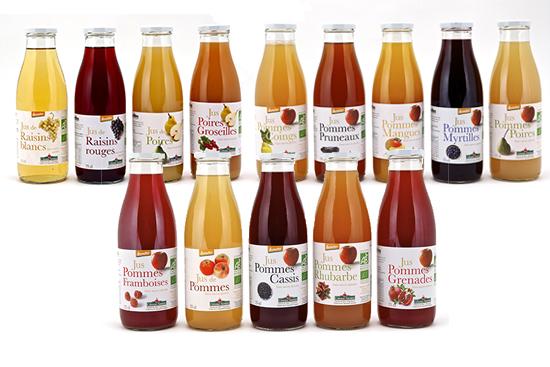 Coteaux nantais bio la une - Conservation jus de fruit frais ...