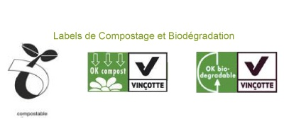 Labels de Compostage et Biodégradation